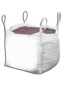 Brown Rock Salt in Bulk Bag